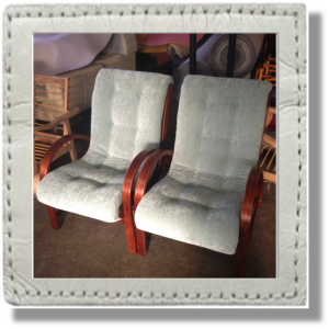 reupholstered chairs Brisbane